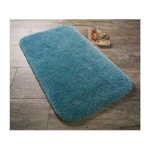 Tyrkysová predložka do kúpeľne Confetti Bathmats Miami, 50x57cm