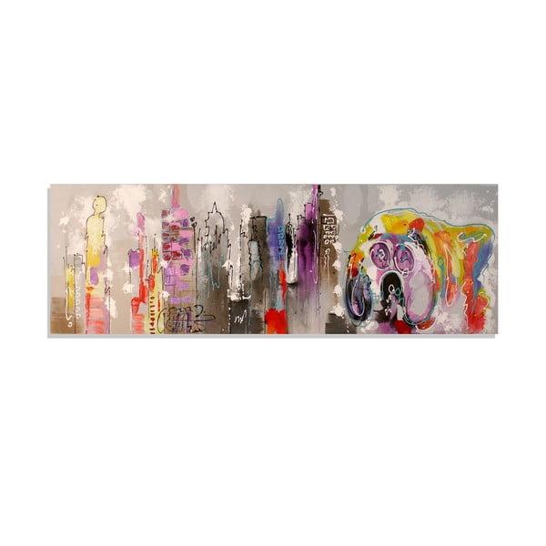 Obraz na plátne Landscape, 50x150 cm