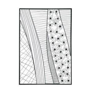 Nástenná dekorácia Abstract Iron, 85x125 cm