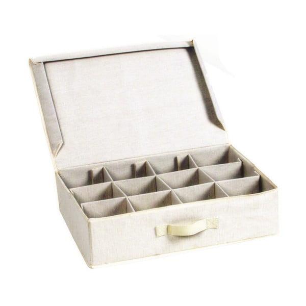Úložný box so sekciami JOCCA Sectional, 48×35 cm