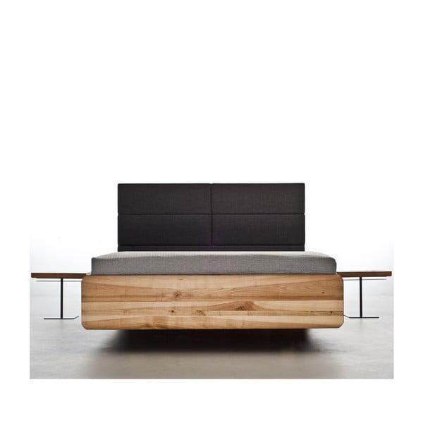 Posteľ z jelšového dreva Mazzivo Boxspring, 180 x 200 cm