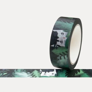 Washi páska U Studio Design Jungle, dĺžka 4 m
