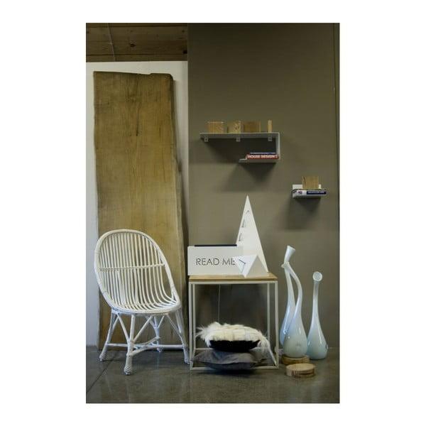 ODkladací stolík Side White, 58x58x60 cm