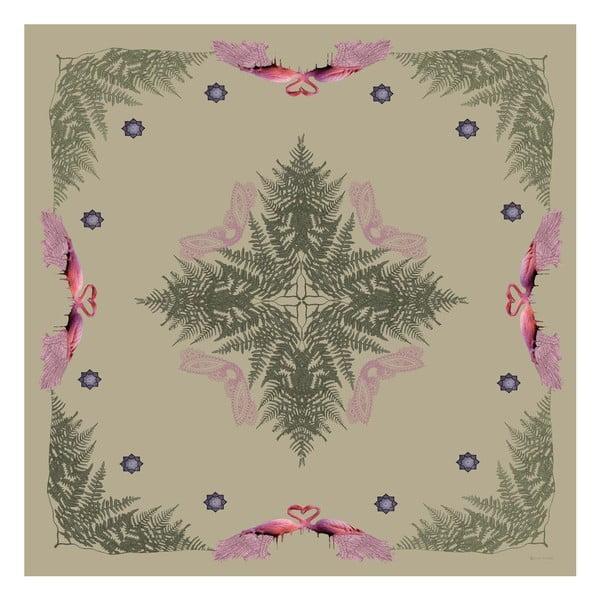 Šatka Puna Pink, 130x130 cm