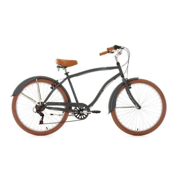 Bicykel Beachcruiser Cruizer Black 26'', výška rámu 48 cm
