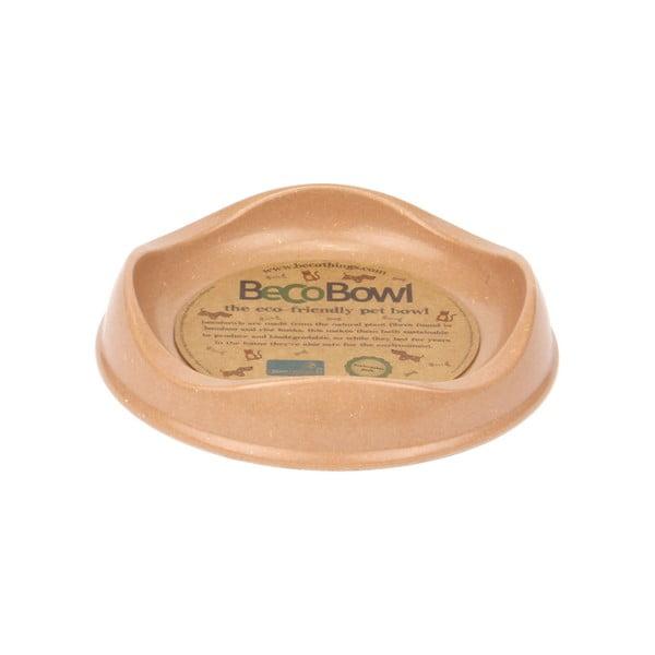 Miska pre mačky Beco Bowl Cat, hnedá