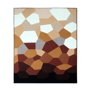 Koberec Hanse Home Prime Pile Abstract Caramel, 80 x 150 cm