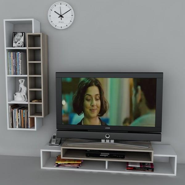 Televízny stolík First TV Stand White/Cordoba