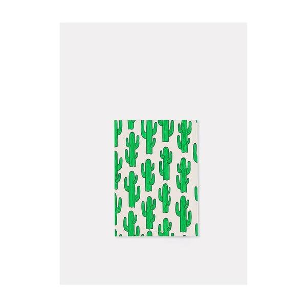 Zápisník Cactus A6