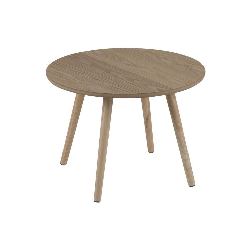 Okrúhly odkladací stolík Actona Stafford, ø 50 cm