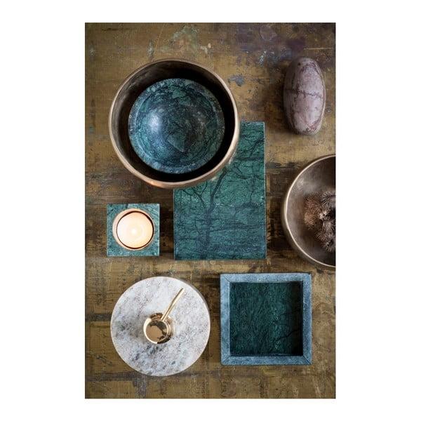 Zelený mramorový úložný box NORDSTJERNE, 10 x 15 cm