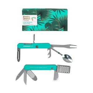 Kuchynský multifunkčný nástroj Pretty Useful Tools Tropical Topaz