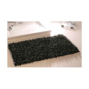 Kúpeľňová predložka Metallic Look Black, 50x70 cm