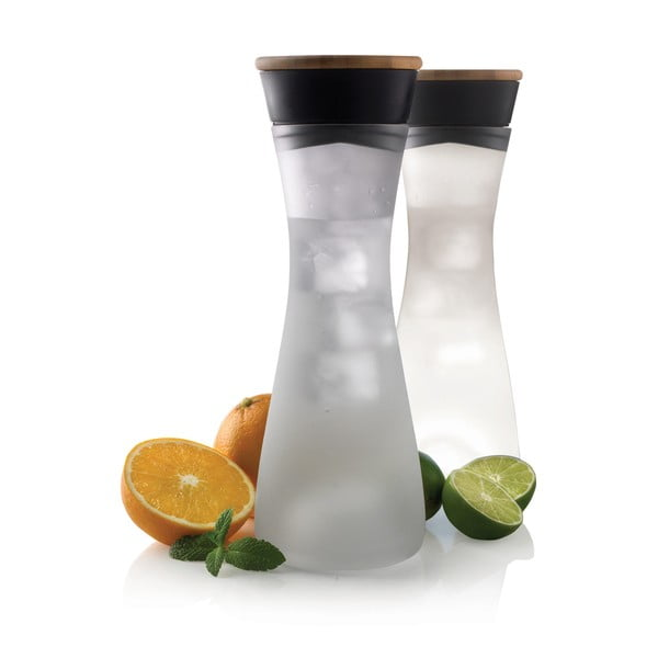 Karafa na vodu s bambusovým viečkom XD Design Lumm light, 800 ml