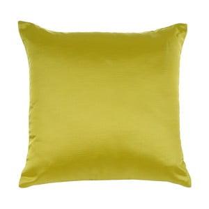 Žltá žakárová obliečka na vankúš Apolena Bon Cha, 43 x 43 cm