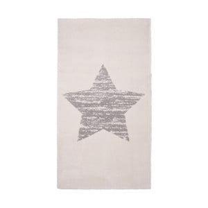 Detský krémový koberec Nattiot Lucero, 80x150cm