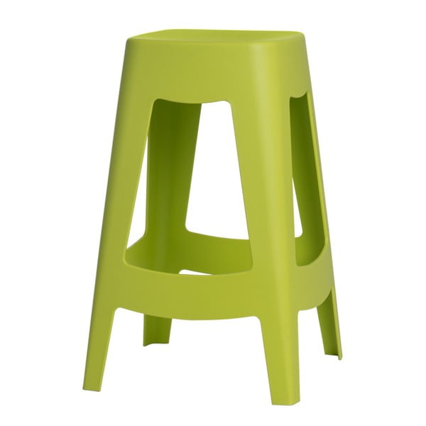 Sada 2 barových stoličiek D2 Tower,zelená