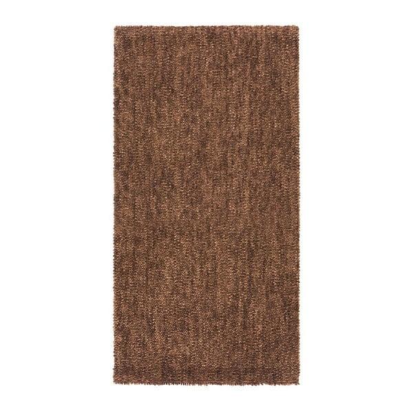 Vlnený koberec Tatoo 110 Marron, 67x200 cm