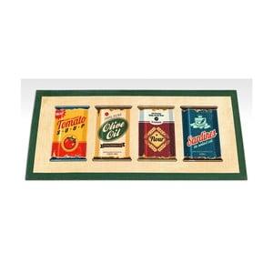 Behúň Floorita Digital Olive Oil & Co, 60 x 140 cm