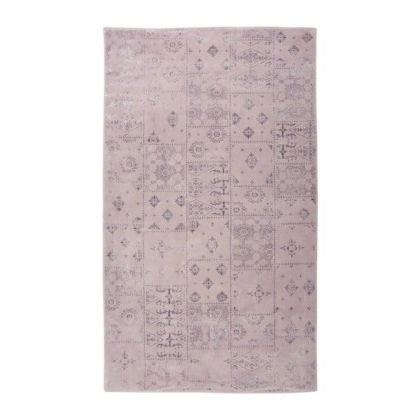 Fialový koberec Floorist Mosaic,80x300cm