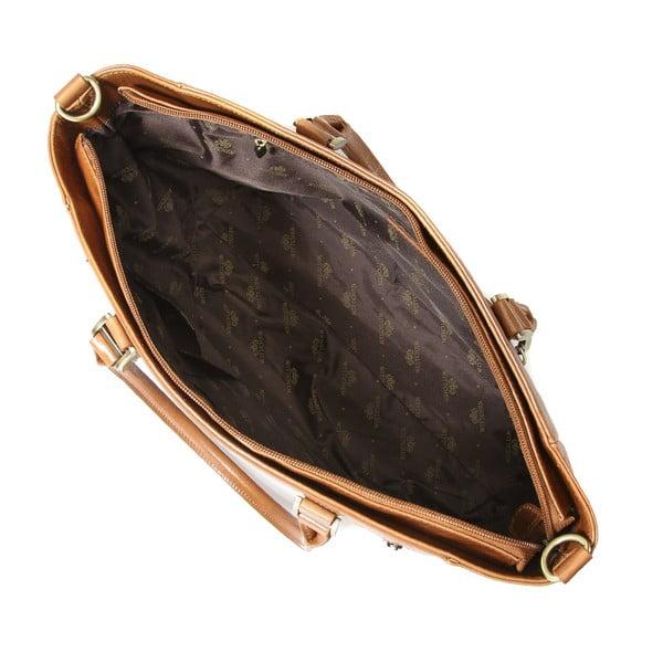 Kožená kabelka Venus Chocolate