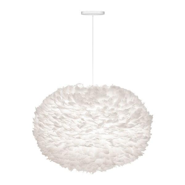 Biele tienidlo z husieho peria VITA Copenhagen EOS, Ø75 cm