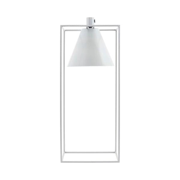 Stolová lampa Kubix, biela