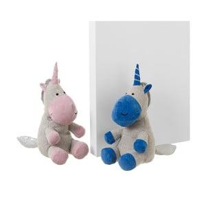 Sada 2 zarážok do dverí v tvare lamy Unimasa Unicorn