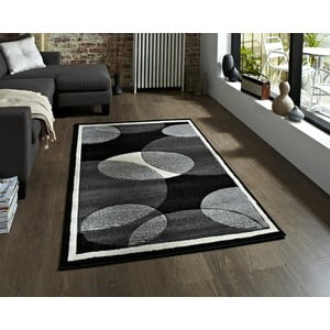 Sivý koberec Think Rugs Art Twist Grey, 160 x 220 cm