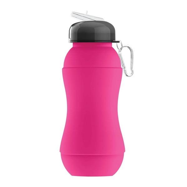 Športová fľaša Sili-Squeeze, ružová, 700 ml