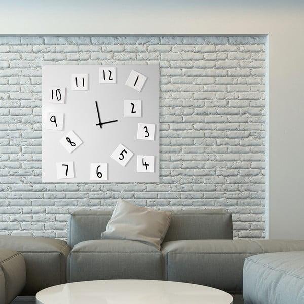Nástenné hodiny Changing Clock, 80x80 cm