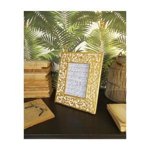 Sada 2 rámčekov z mangového dreva Orchidea Milano Ramage, výška 28 cm