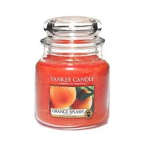 Vonná sviečka Yankee Candle Pomarančová Šťava, doba horenia 65 - 90 hodín