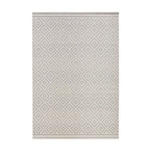 Sivý koberec vhodný aj do exteriéru Hanse Home Karo, 140x200cm