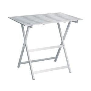 Biely skladací stôl Colombo New Scal King, 60 x 80 cm