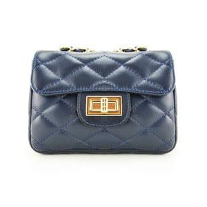 Kožená kabelka Custina Blue