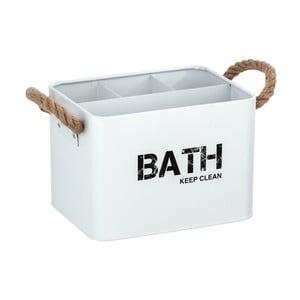 Biely kúpeľňový box Wenko Gara