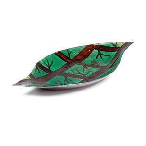 Sklenená tácka Arizona Leaf