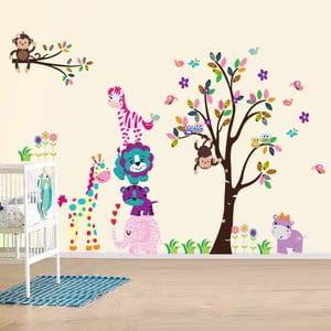 Samolepka na stenu Šťastná rodinka