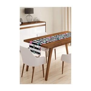 Behúň na stôl z mikrovlákna Minimalist Cushion Covers Cactus Stripes, 45×145 cm