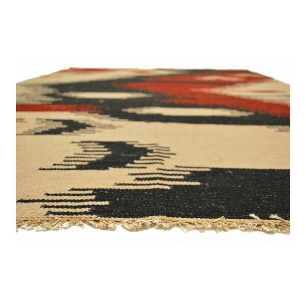 Vlnený koberec Kilim 121, 140x200 cm