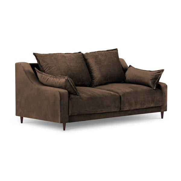 Hnedá dvojmiestna pohovka Mazzini Sofas Freesia