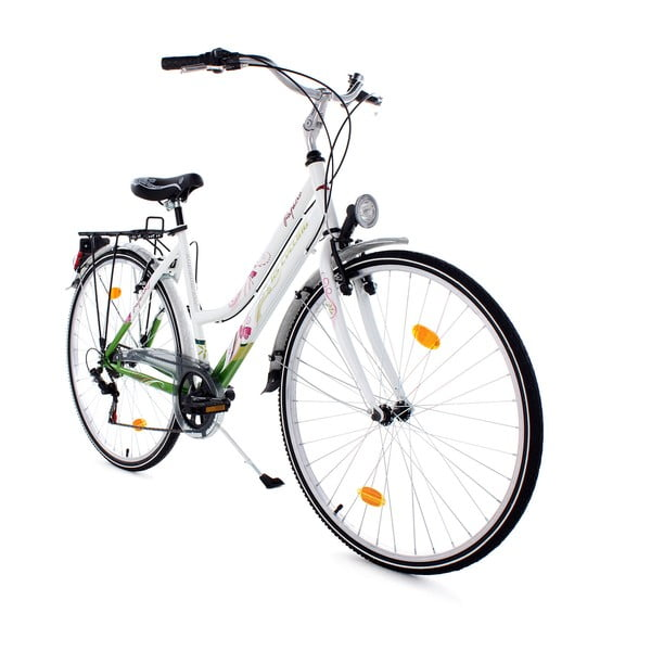 Dámsky bicykel City Bike Papilio White 48 cm, 28""