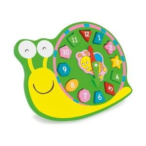 Drevené cvičné hodiny Legler Snail