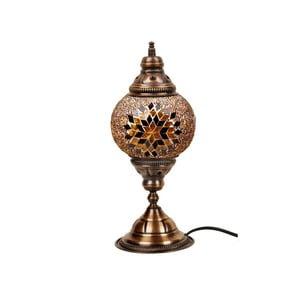 Stolová sklenená lampa Homemania Mosaic , ⌀15cm
