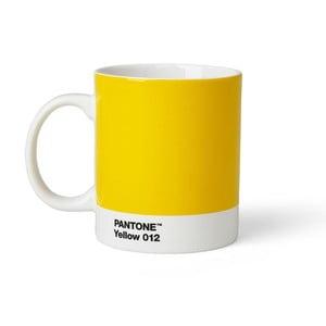Žltý hrnček Pantone 012, 375 ml