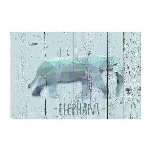 Vinylový koberec Elephant, 100x150 cm
