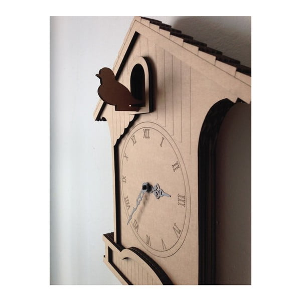 Kartónové hodiny Cuckoo clock