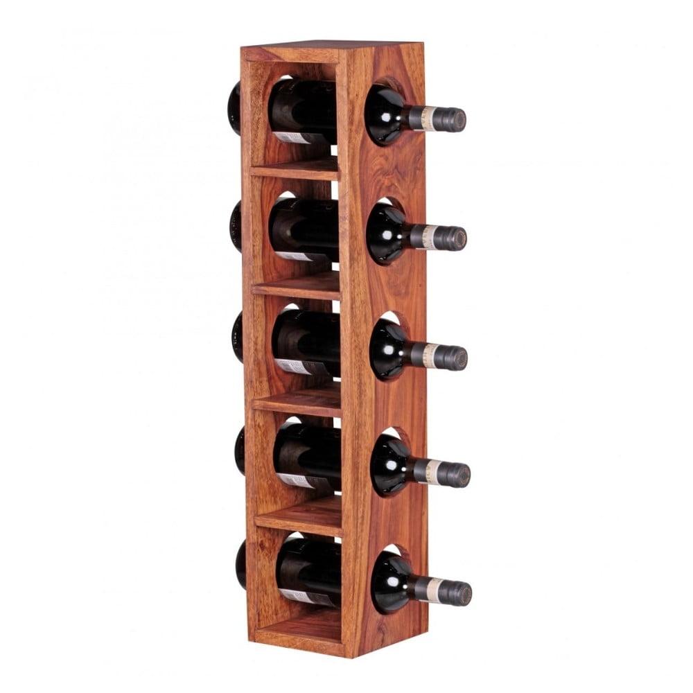 Stojan z masívneho palisandrového dreva na vinné lahve Skyport Brisa