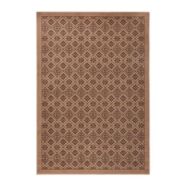 Hnedý koberec Hanse Home Gloria Tile, 160 x 230 cm